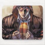 Superman Earth Cover - Colour Mouse Pad