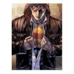 Superman Earth Cover - Colour Post Card