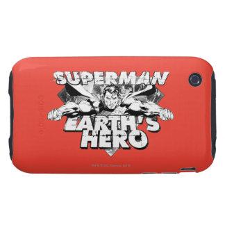 Superman Earth's Hero iPhone 3 Tough Cover