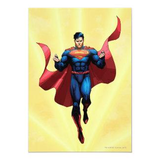 "Superman Flying 5"" X 7"" Invitation Card"
