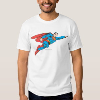 Superman Flying Right T-shirts