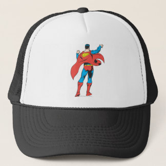 Superman From Behind Trucker Hat