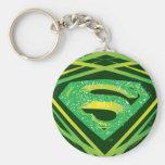 Superman Green Decorative Logo Key Chains