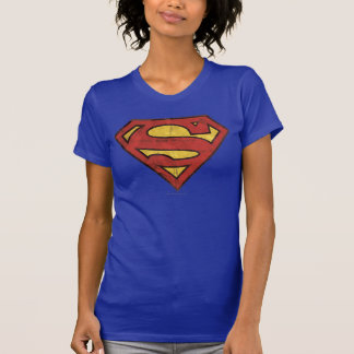 Superman Grunge Logo T-shirts