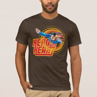 Superman Hero with Heart T-Shirt