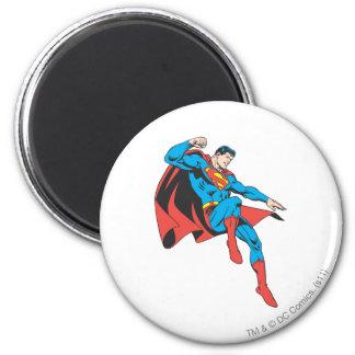 Superman Lands Lightly Magnet