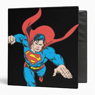 Superman Leaps Forward 3 Ring Binders