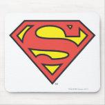 Superman Logo Mousepads