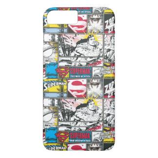 Superman Logo Pattern 2 iPhone 7 Plus Case