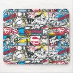 Superman Logo Pattern 2 Mousepads