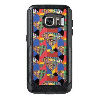 Superman Logo Pattern 3 OtterBox Samsung Galaxy S7 Case