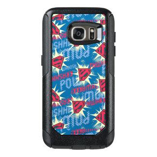 Superman Logo Pattern OtterBox Samsung Galaxy S7 Case