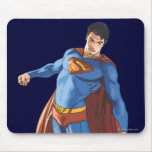 Superman Looking Down Mouse Pad