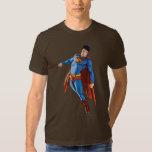 Superman Looking Down T Shirts