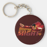 Superman Man of Might Keychains