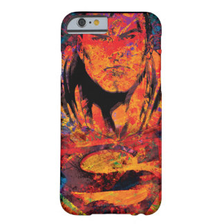 Superman Orange Grunge iPhone 6 Case