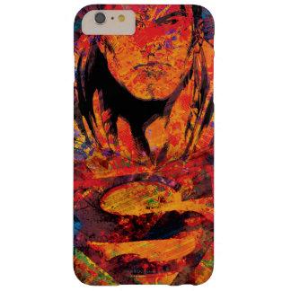 Superman Orange Grunge Barely There iPhone 6 Plus Case