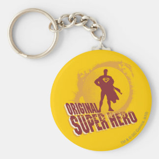 Superman Original Super Hero Keychain