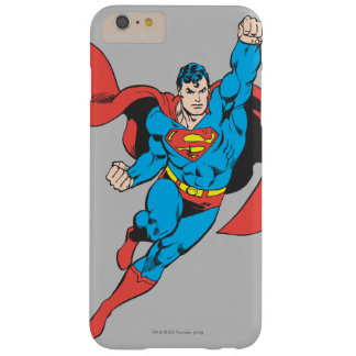 Superman Right Fist Raised Barely There iPhone 6 Plus Case