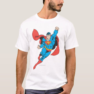 Superman Right Fist Raised T-Shirt