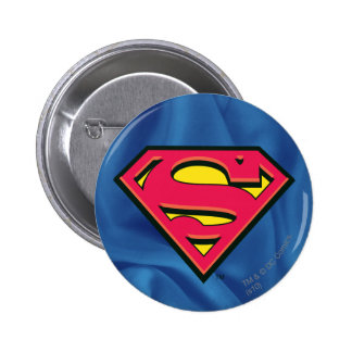 Superman S-Shield | Classic Logo 2 Inch Round Button
