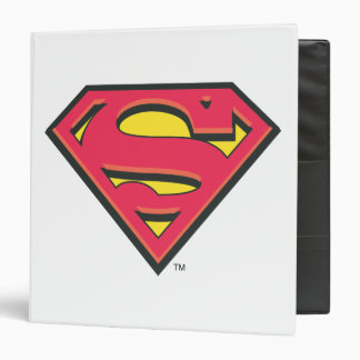 Superman S-Shield | Classic Logo 3 Ring Binder