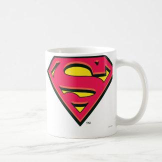 Superman S-Shield   Classic Logo Classic White Coffee Mug