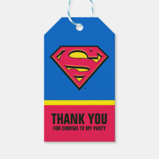Superman S-Shield | Classic Logo Pack Of Gift Tags