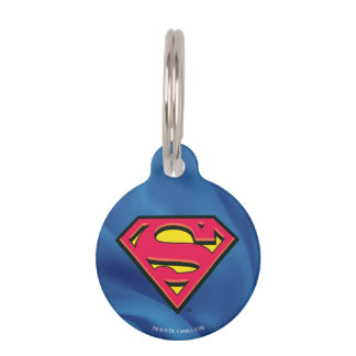Superman S-Shield | Classic Logo Pet Name Tag