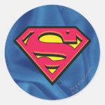 Superman S-Shield | Classic Logo Round Sticker