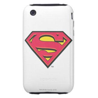 Superman S-Shield   Classic Logo Tough iPhone 3 Cover