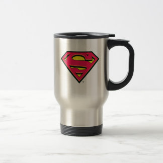 Superman S-Shield | Classic Logo Travel Mug