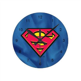 Superman S-Shield | Classic Logo Wallclock