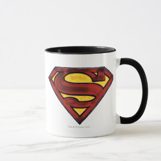 Superman S-Shield | Darkened Red Logo Mug
