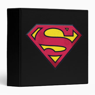 Superman S-Shield | Dirt Logo 3 Ring Binders