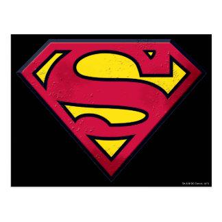 Superman S-Shield | Dirt Logo Postcard
