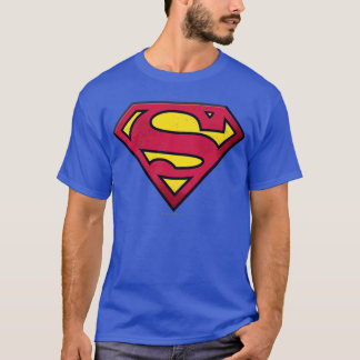 Superman S-Shield   Dirt Logo T-Shirt