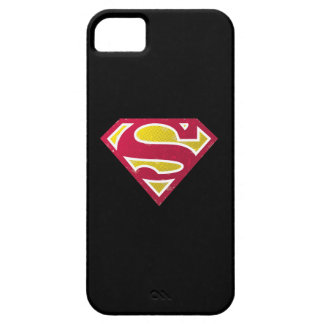 Superman S-Shield | Distressed Dots Logo iPhone 5 Case