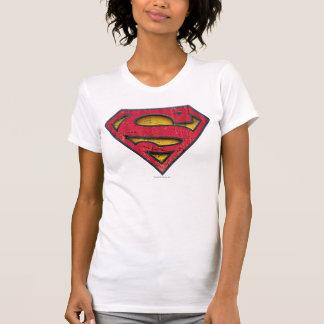 Superman S-Shield   Distressed Logo T-Shirt