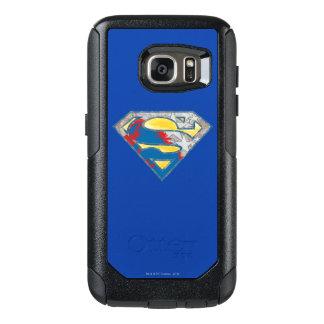 Superman S-Shield | Grey Yellow Red Black Mix Logo OtterBox Samsung Galaxy S7 Case