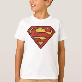 Superman S-Shield | Grunge Logo T-Shirt