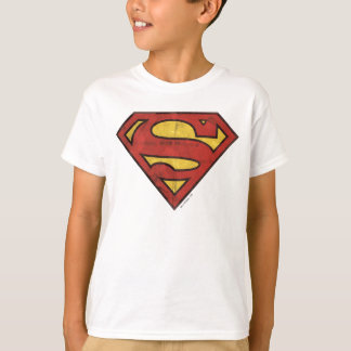 Superman S-Shield | Grunge Logo Tshirt