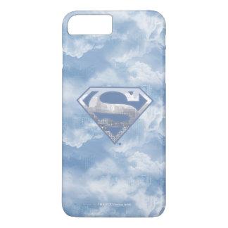 Superman S-Shield | Light Blue City Logo iPhone 8 Plus/7 Plus Case