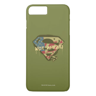 Superman S-Shield | Not Afraid Logo iPhone 7 Plus Case