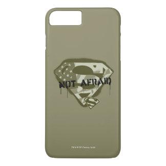 Superman S-Shield | Not Afraid - US Camo Logo iPhone 8 Plus/7 Plus Case