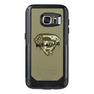 Superman S-Shield | Not Afraid - US Camo Logo OtterBox Samsung Galaxy S7 Case