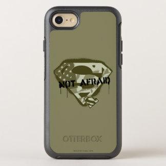 Superman S-Shield   Not Afraid - US Camo Logo OtterBox Symmetry iPhone 7 Case