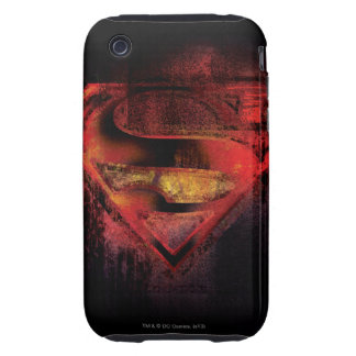 Superman S-Shield   Painted Logo iPhone 3 Tough Cover
