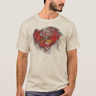 Superman S-Shield | Painted Logo T-Shirt