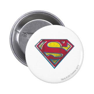Superman S-Shield | Printed Logo 2 Inch Round Button